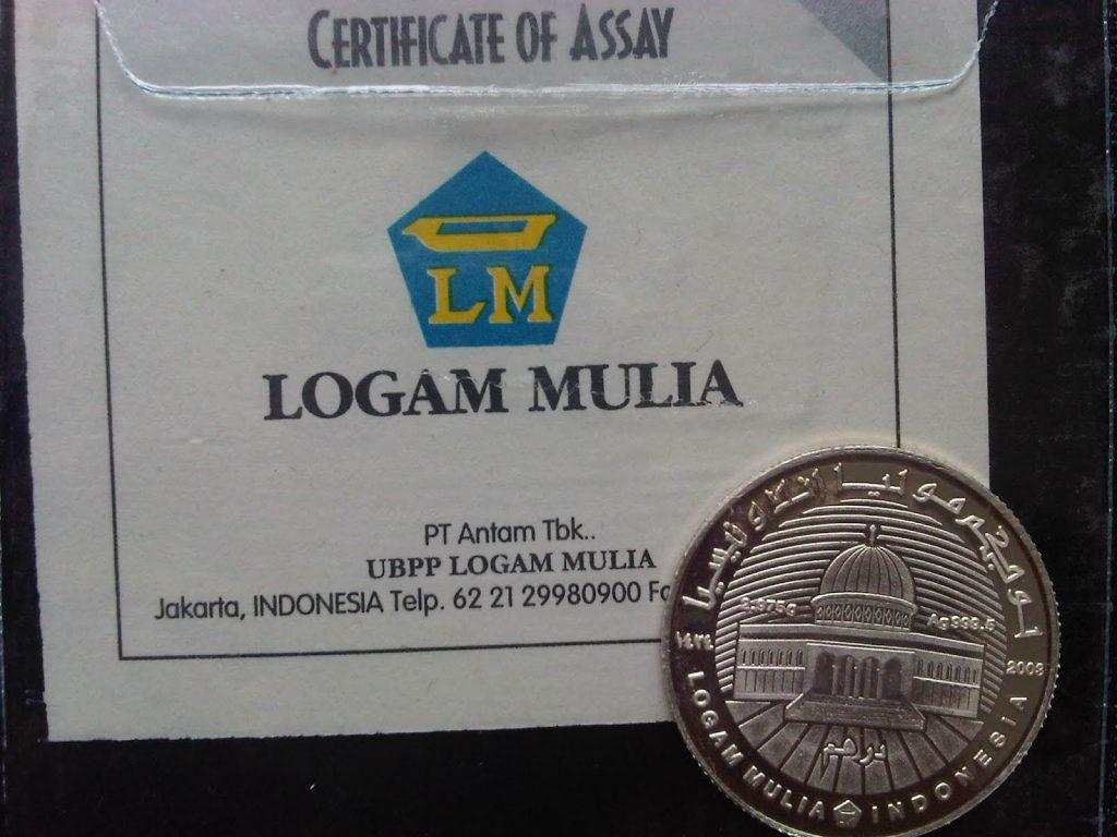 Yuk Kita Mulai Sedekah Dengan Koin Perak Dirham