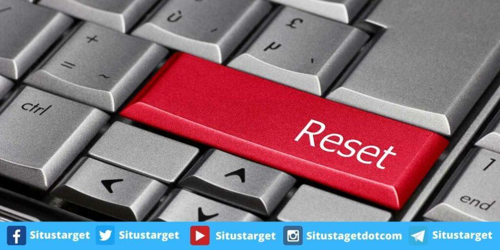 Cara Reset Windows 10 Ke Pengaturan Awal