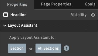 Cara merapihkan tampilan versi mobile dengan cepat menggunakan Layout Assistant pada landing page Unbounce