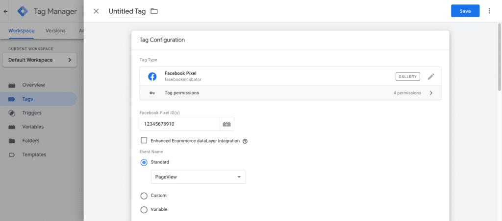 Cara menambahkan Facebook Pixel ke Google Tag Manager