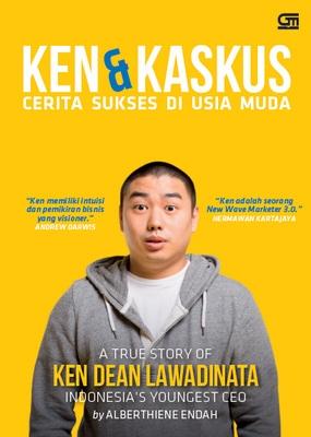 Cover Buku Ken dan Kaskus Alberthiene Endah