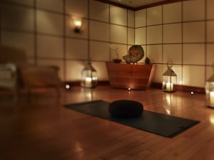 Ruangan yang nyaman dan tenang untuk relaksasi