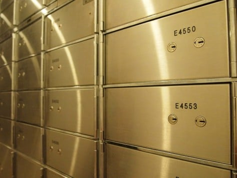 Ilustrasi Safe Deposit Box pada Perbankan via Google Plus Gloval, Inc.