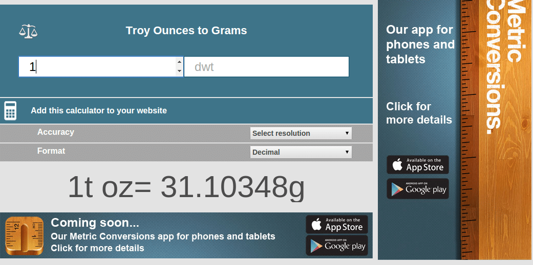 Perhitungan troy ounce ke gram via www.situstarget.com/blog