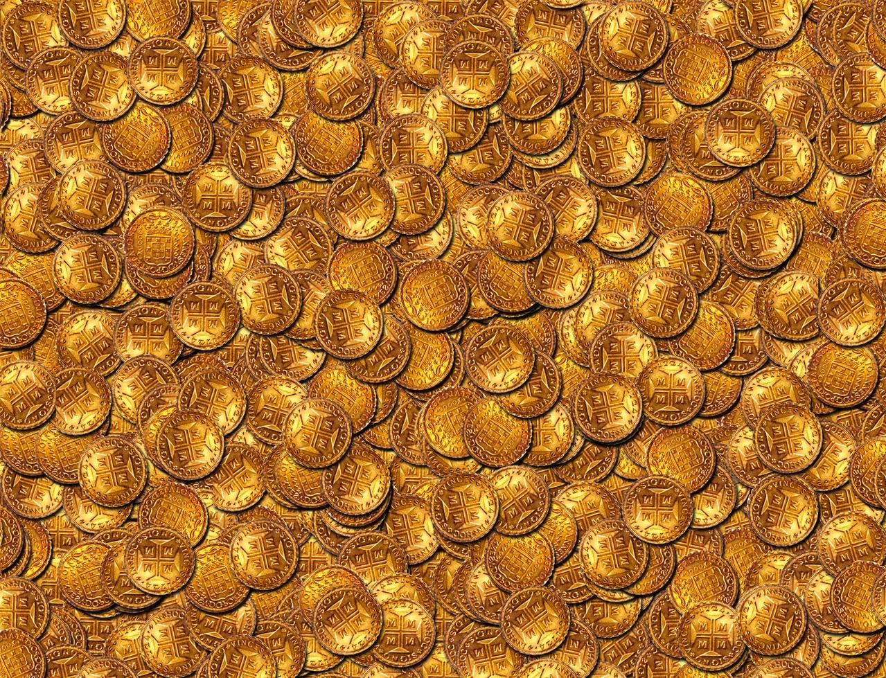 Ada ribuan koin emas kuno di temukan di Banda Aceh, Indonesia