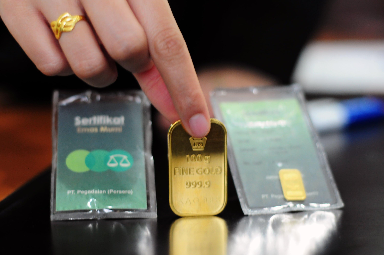 Tempat beli emas batangan terpercaya yang pertama, yaitu adalah Kantor Pegadaian