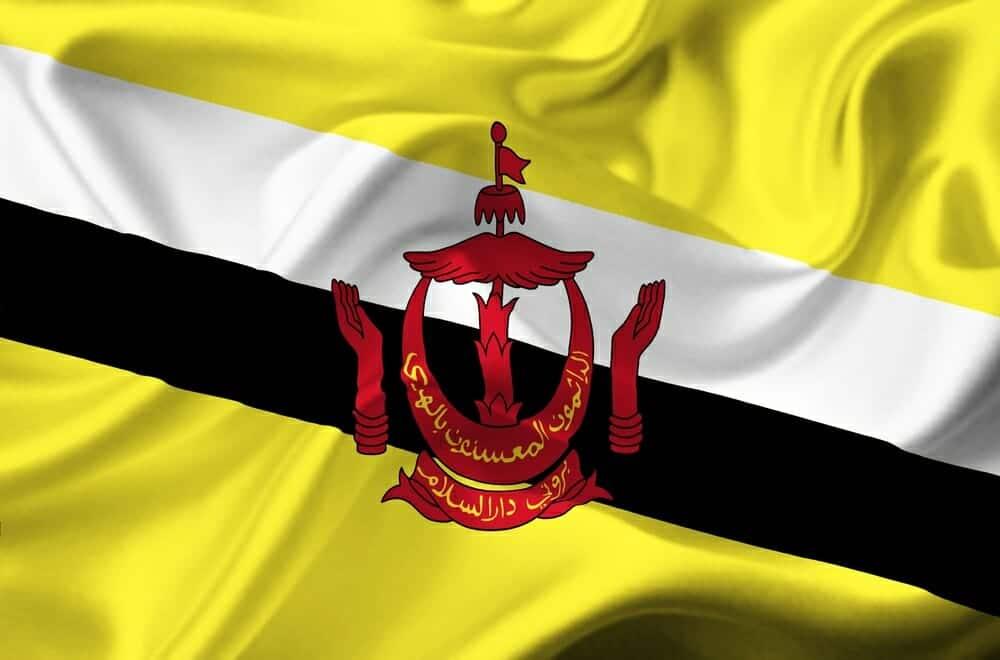 Brunei sebagai negara pemilik emas terbanyak kesepuluh di ASEAN via wpmap.org
