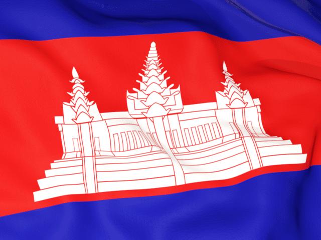Kamboja sebagai negara pemilik emas terbanyak keenam di ASEAN via freeflagicons