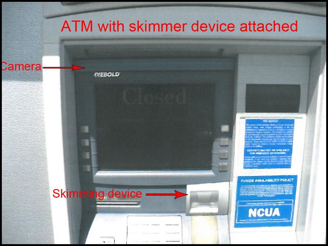 Alat skimmer dan kamera dipergunakan pada modus kejahatan skimming ATM