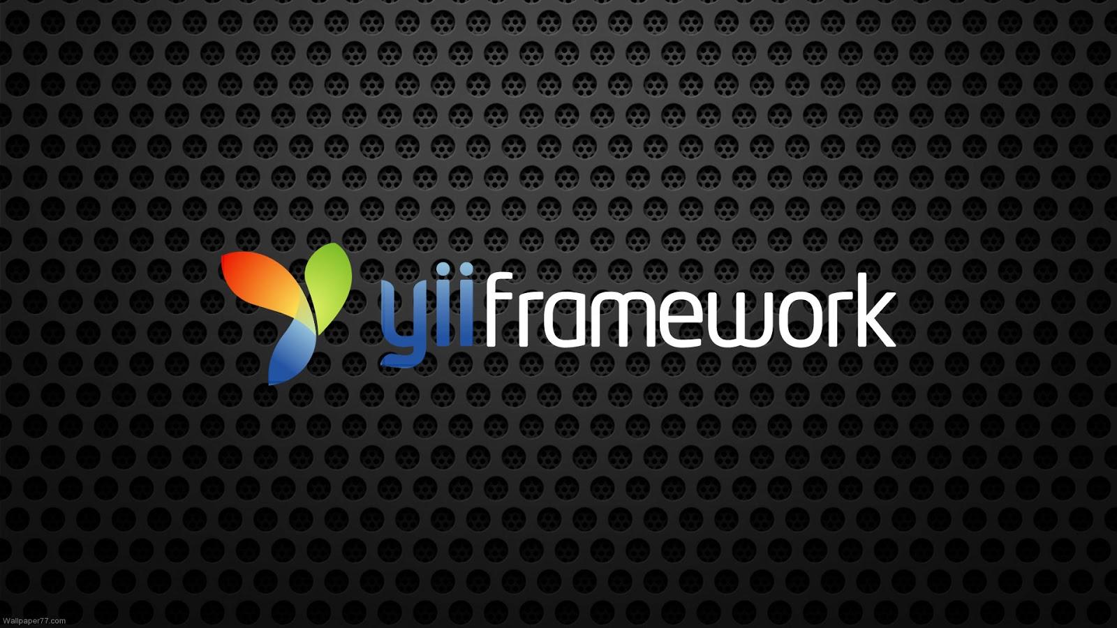 Yii Framework - opensource dan gratis!
