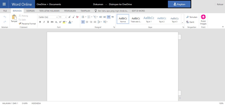 Microsoft office 365 online