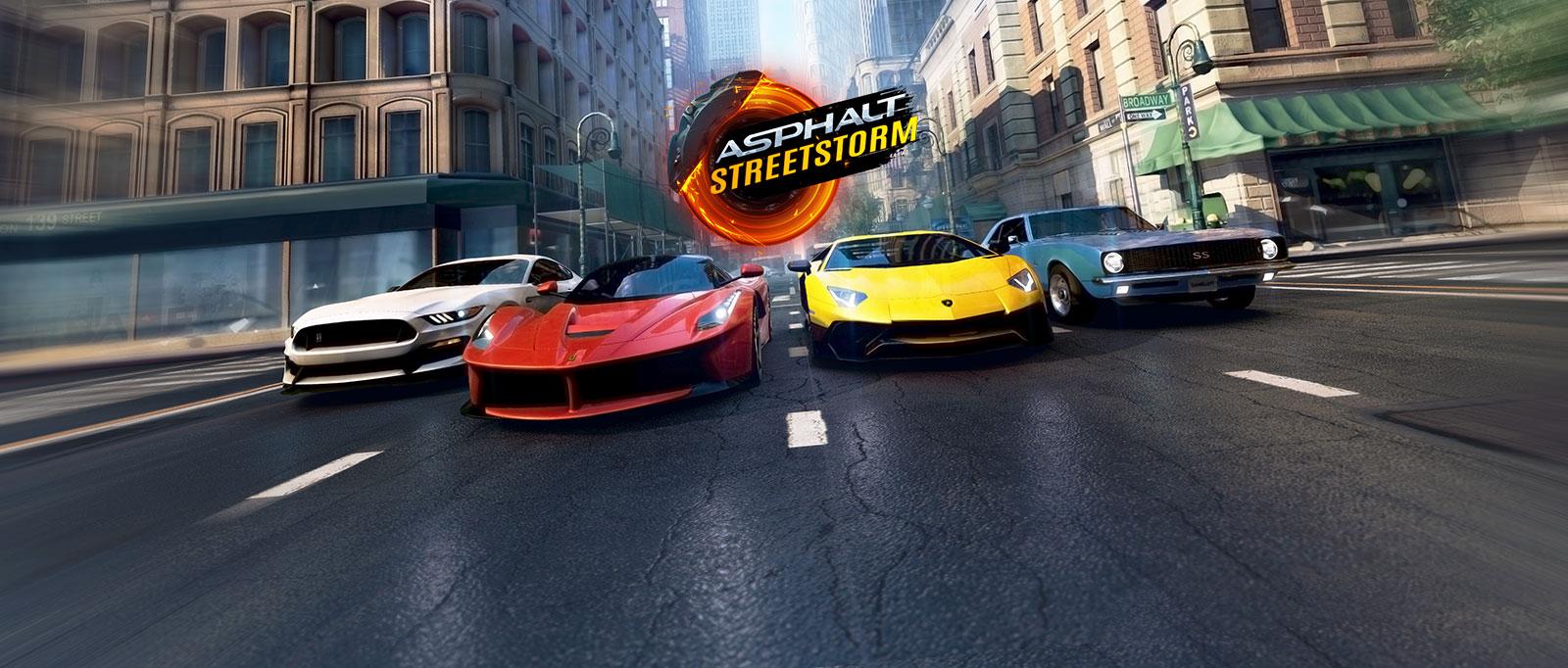 Game Balapan Asphalt Street Storm Racing