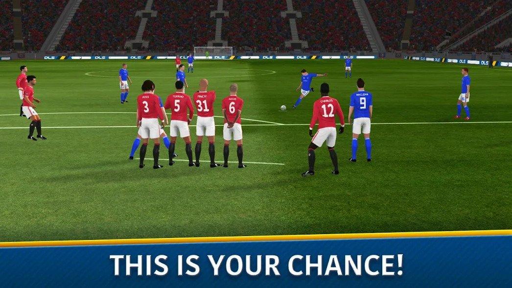 Game Sepak Bola Dream League Soccer 2018