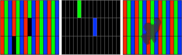 Cek apakah ada anomali pada layar lcd mac preloved