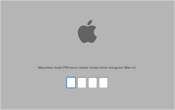 Minta penjual menonaktifkan fitur keamanan pada macbook yang hendak dijual