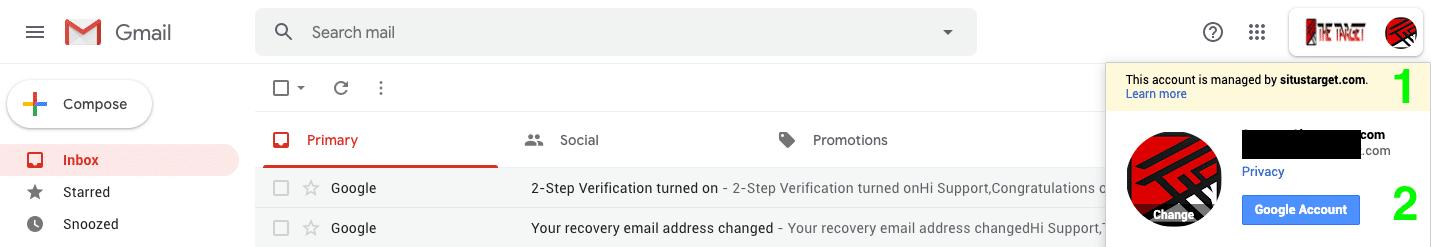 Cara ganti passsword akun Google