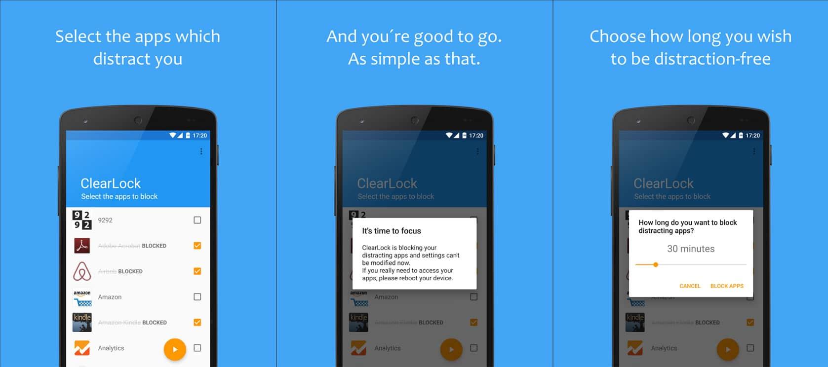 Aplikasi clear lock