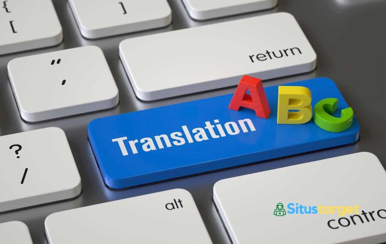 Google Translate dapat digunakan untuk menerjemahkan situs website