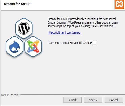 Cara install WordPRess menggunakan Bitnami for WordPress
