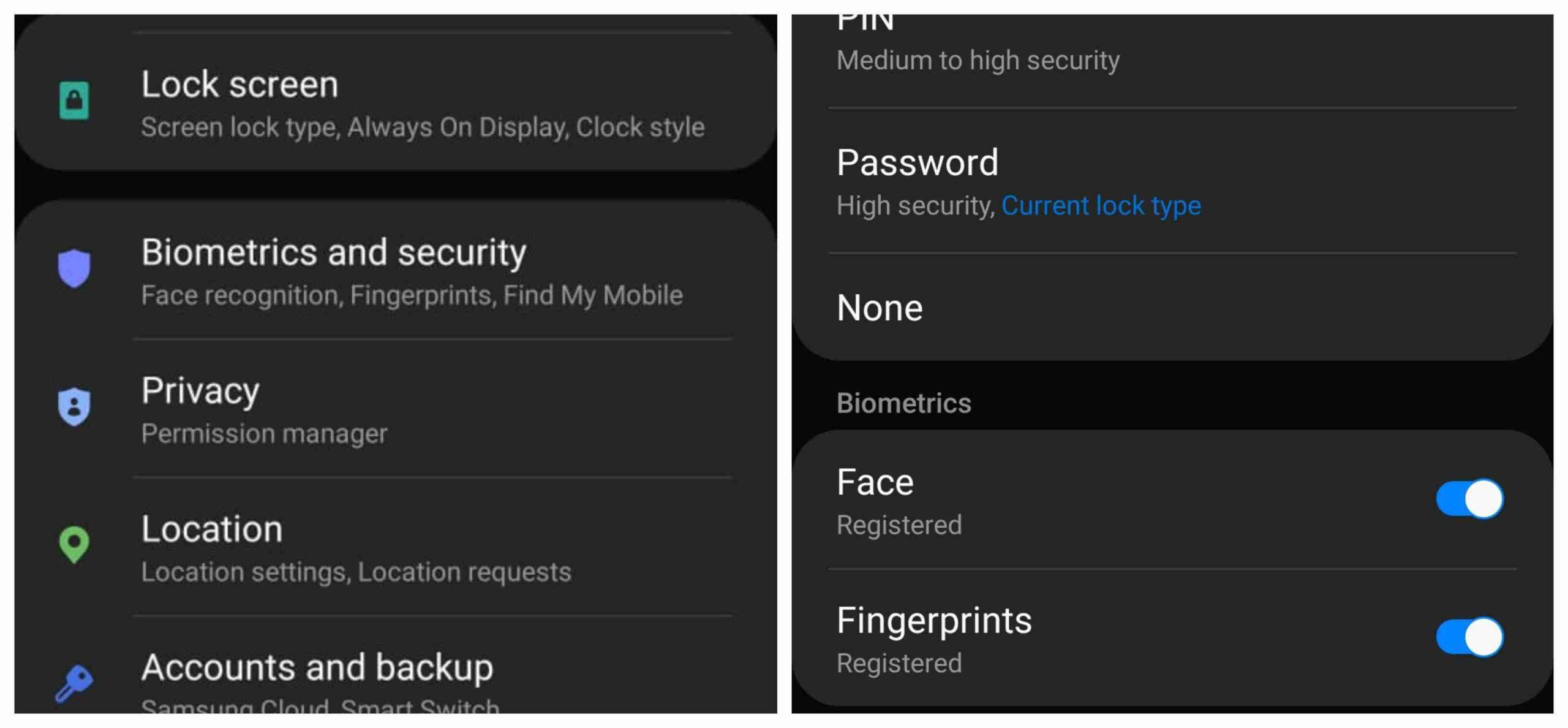 Pilihan Keamanan Pada Kunci Layar Android