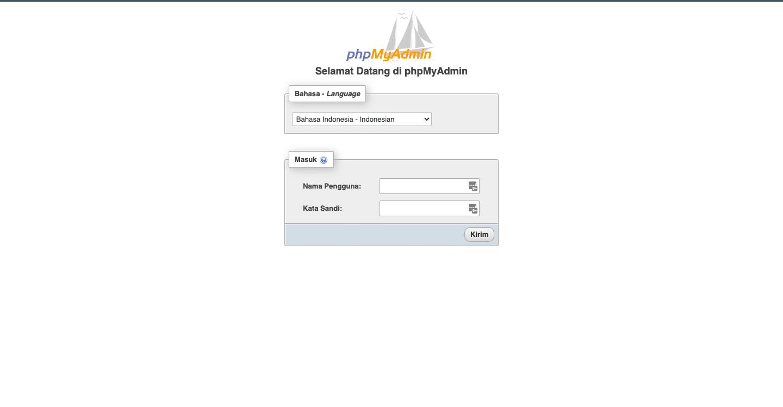 Cara Mengganti Password WordPress Melalui phpMyAdmin